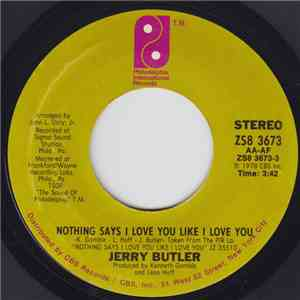Jerry Butler - Nothing Says I Love You Like I Love You download