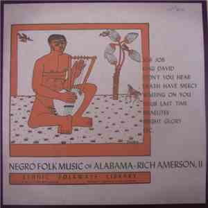 Rich Amerson - Negro Folk Music Of Alabama Vol. IV - Rich Amerson, II download
