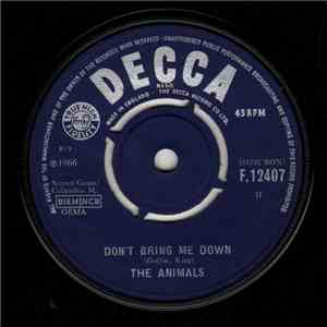 The Animals - Don't Bring Me Down download